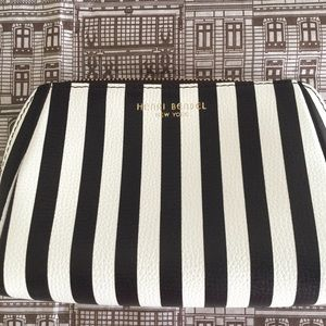 Henri Bendel Leather Cosmetic Bag & Pouch.NEW